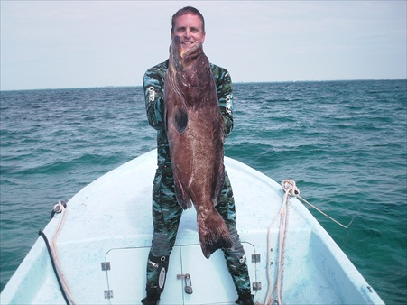 Spearfishing With Oliver!!!!